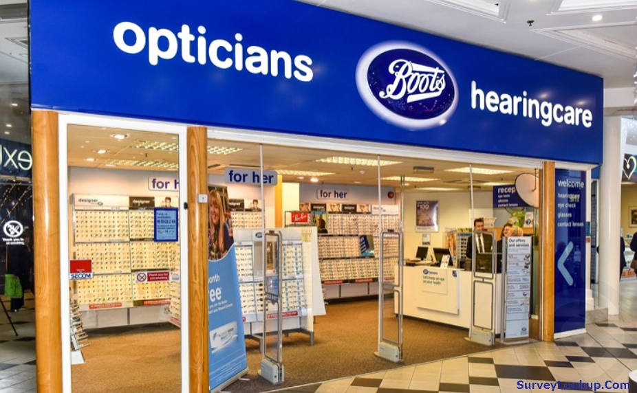boots opticians store front