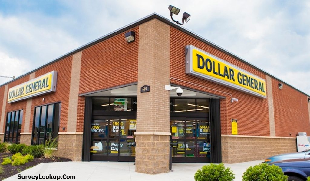 store front of dollar general