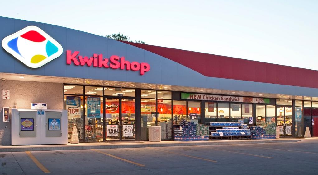kwik shop front