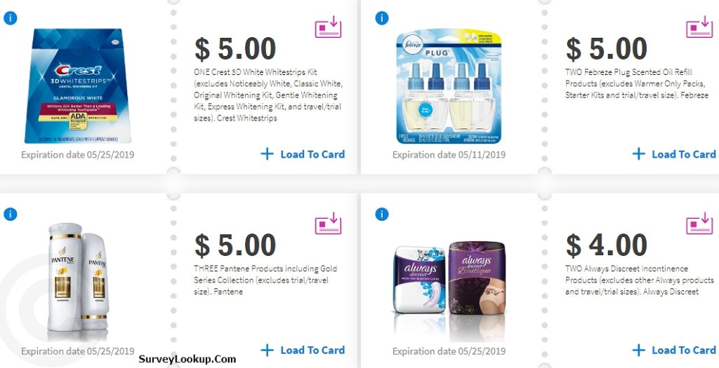 proctor and gamble 2019 coupons