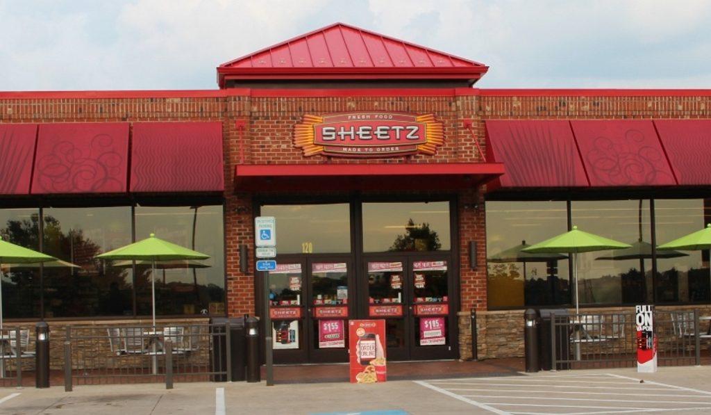 front side of sheetz restaurant