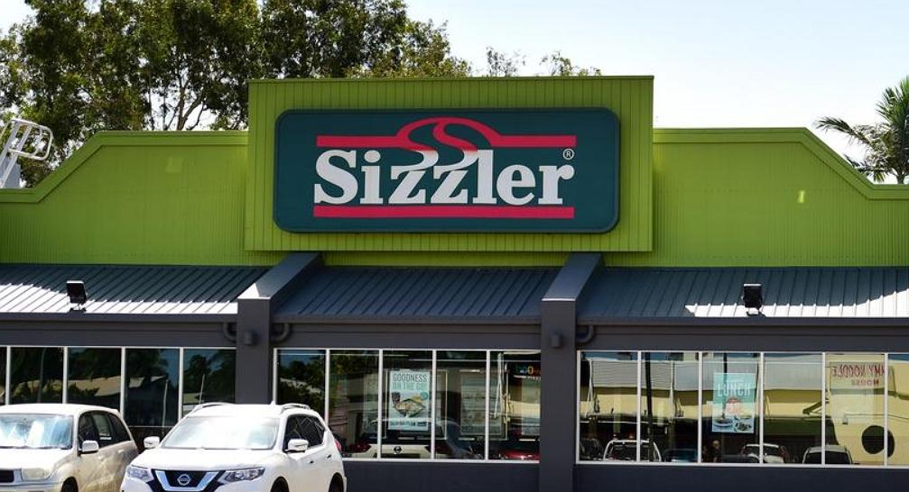 sizzler restaurant front