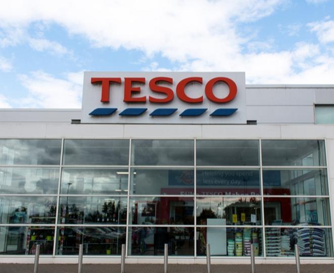 tesco supermarket retail store