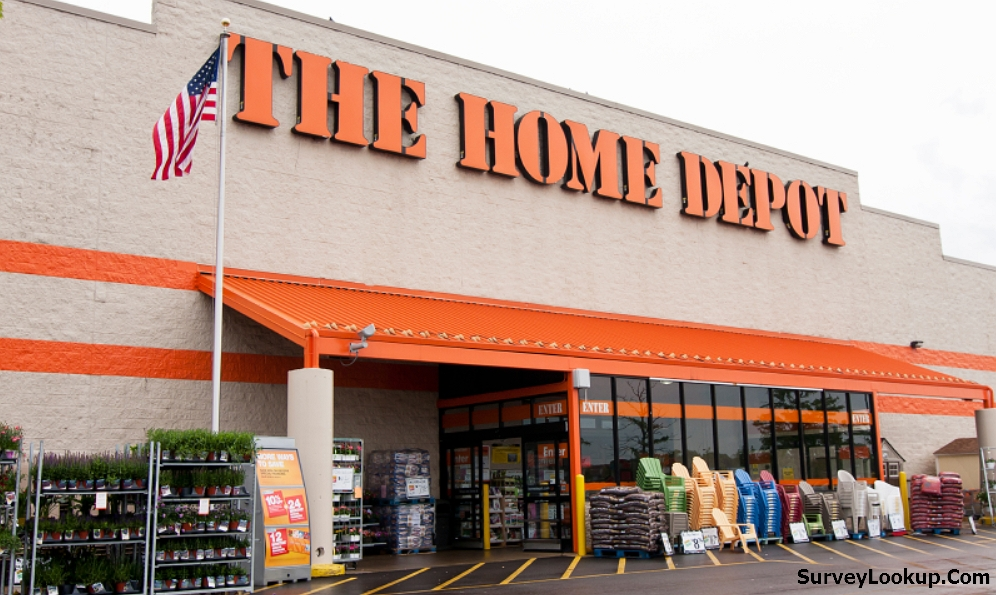 store front of the home depot
