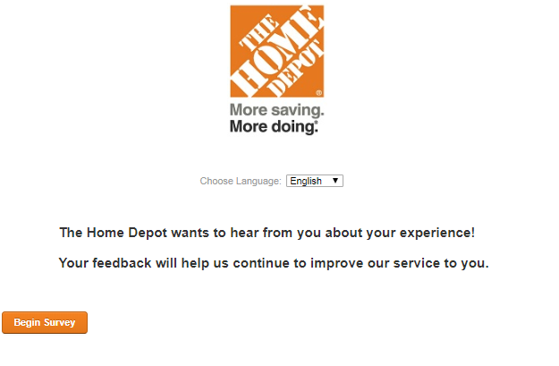 Www.Homedepot.Com/Survey Page