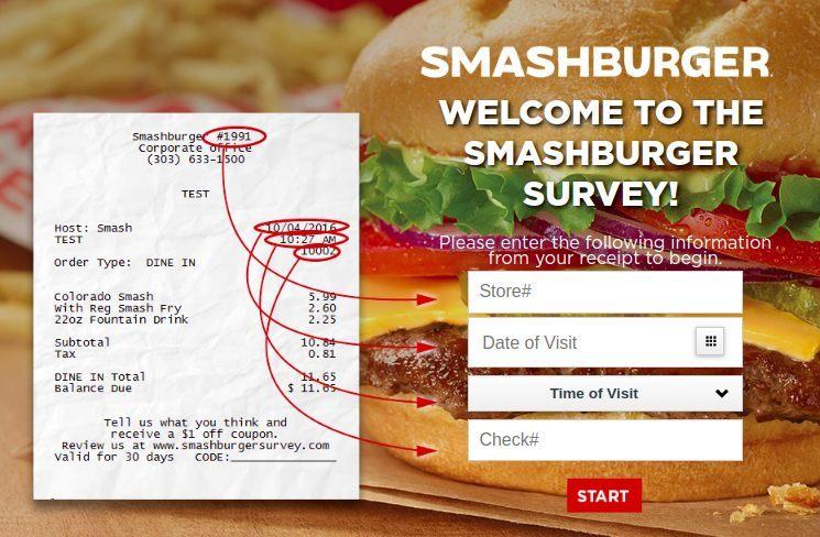 Www.Smashburgersurvey.Com Homepage