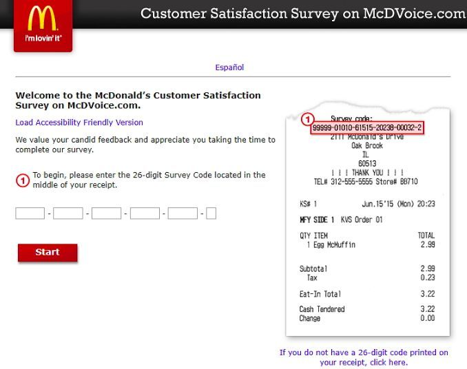 www.mcdvoice.com homepage